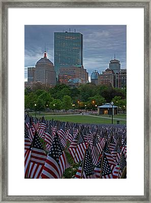 Memorial Day Framed Print by Juergen Roth