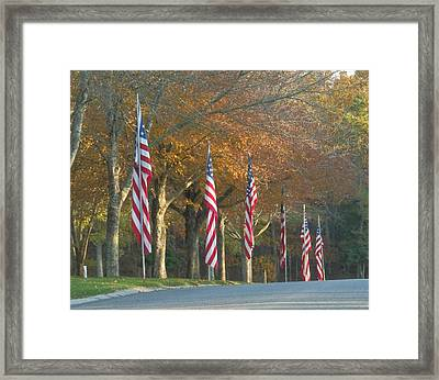 Memorial Drive Framed Print by Heather Sylvia