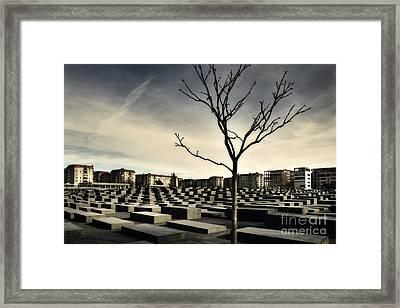 Memorial Landscape Framed Print
