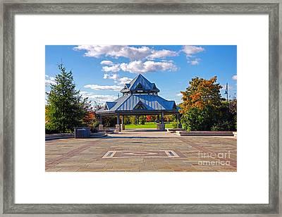 Memorial Park Framed Print