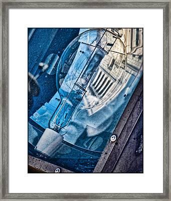 Memorial Reflection Framed Print by Kristi Swift