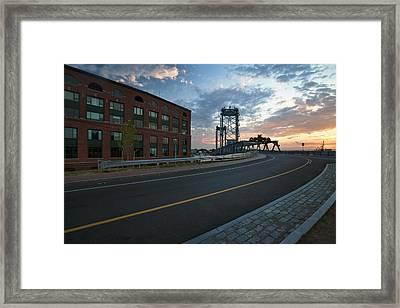 Memorial Sunrise Framed Print by Eric Gendron