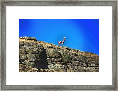 Memorial Framed Print by The Stone Age
