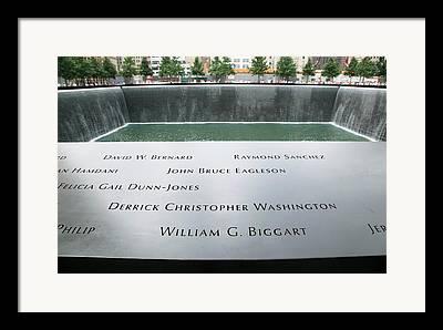 September 11 2012 Framed Prints