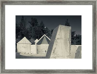 Memorial To Ethiopian Jews Who Perished Framed Print