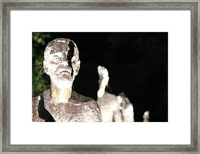 Memorial To The Victims Of Communism Framed Print by Nicholas Miller