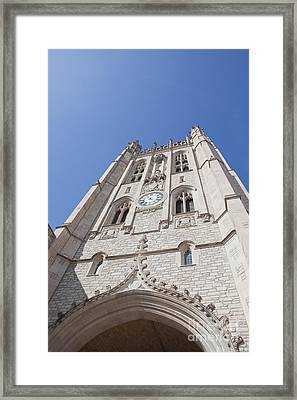 Memorial Union Clock Tower Framed Print