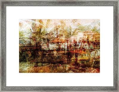 Framed Print featuring the mixed media Memories #1 by Sandy MacGowan