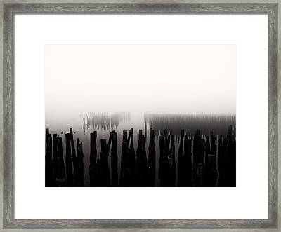 Memories And Fog Framed Print by Bob Orsillo