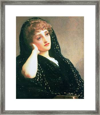 Memories Framed Print by Frederic Leighton