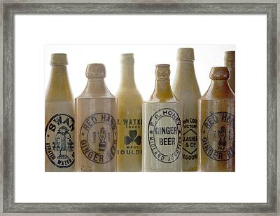 Memories In A Bottle Framed Print by Holly Kempe