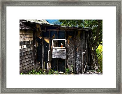 Framed Print featuring the photograph Memories In Amber by Sandi Mikuse