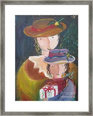 Framed Print featuring the painting Memories by Nereida Rodriguez
