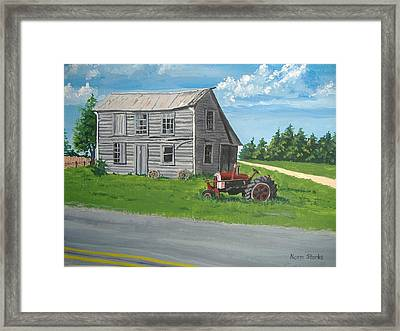 Memories... Framed Print by Norm Starks