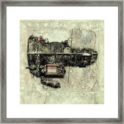 Memories Of A Classic Car II Framed Print by Martin Bergsma