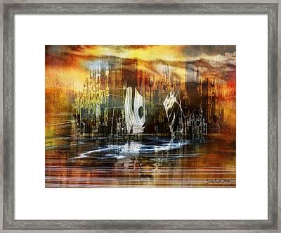 Memories Of Atlantis Framed Print