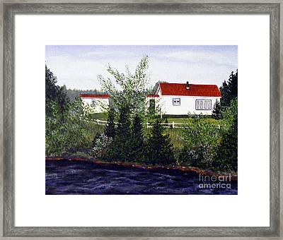 Memories Of Home  Framed Print by Barbara Griffin