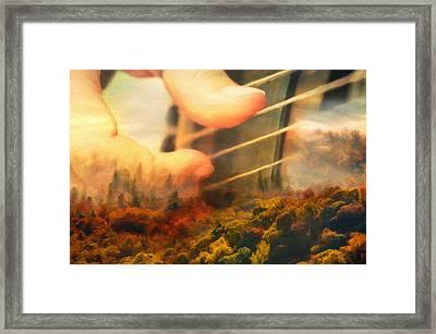 Memories Of Home Framed Print by Georgiana Romanovna