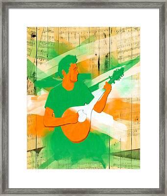 Memories Of Irish Music Framed Print by Mark E Tisdale