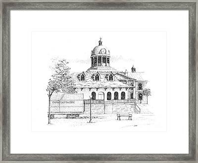 Memories Of Kingston Framed Print