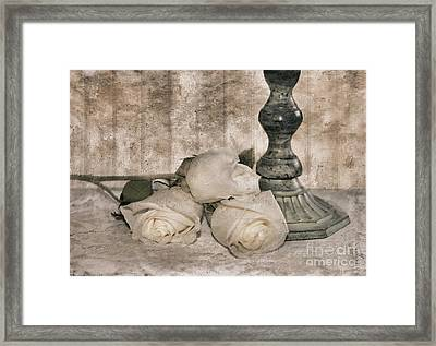 Memories Of Love Framed Print by Betty LaRue