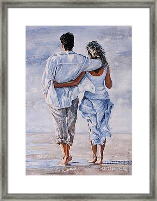Memories Of Love Framed Print by Emerico Imre Toth
