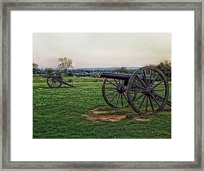 Memories Of Manassas Framed Print by Mountain Dreams