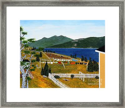 Memories Of Monday Framed Print by Barbara Griffin