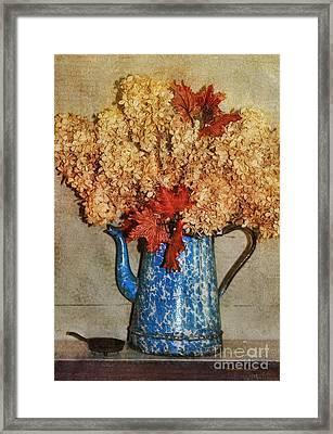 Memories Of Old Framed Print by Deborah Benoit