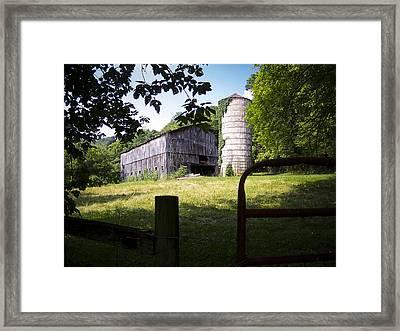 Memories Of Peak's Mill - II Framed Print by Wayne Stacy