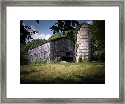 Memories Of Peak's Mill Framed Print by Wayne Stacy