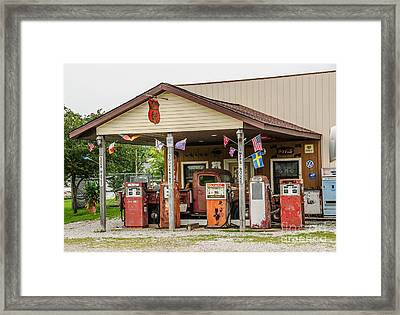 Memories Of Route 66 Framed Print by Sue Smith