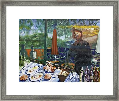 Memories Of Skopelos Framed Print