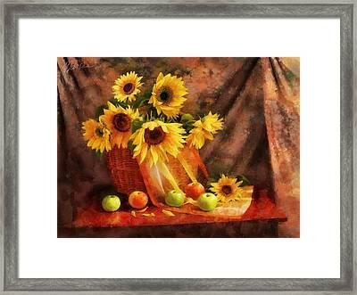 Memories Of Summer Framed Print by Marina Likholat