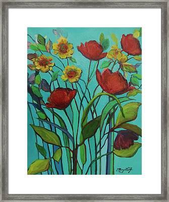 Memories Of The Meadow Framed Print