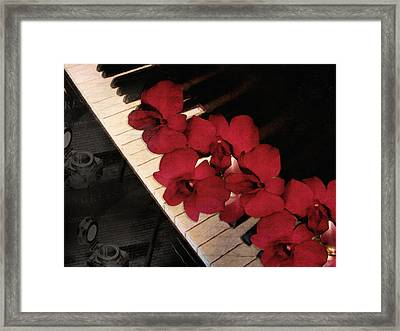Memories Of The Music Lovers - Vintage Style Framed Print by Georgiana Romanovna