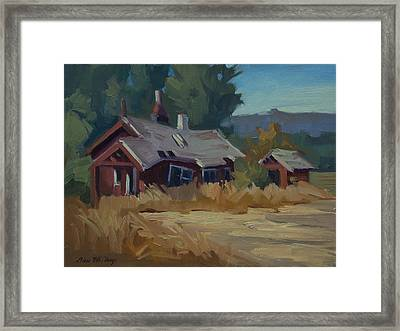 Memories Of The Past Framed Print by Diane McClary