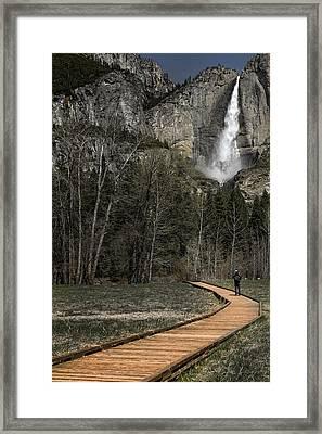 Memories Of Yosemite Framed Print by Eduard Moldoveanu