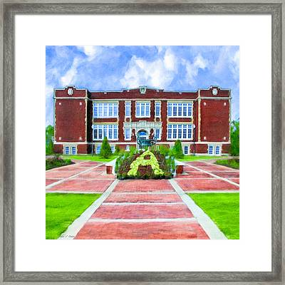 Framed Print featuring the photograph Memories On East Three Notch - Andalusia by Mark E Tisdale