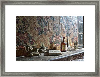 Memories On The Chimney Framed Print by Dirk Ercken