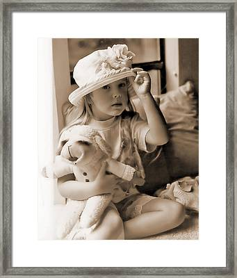 Memories Out Of Time Framed Print by Rory Sagner
