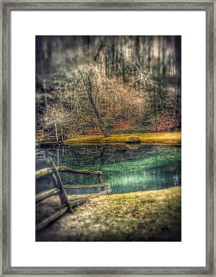 Framed Print featuring the photograph Memories Revisited by Steven Huszar