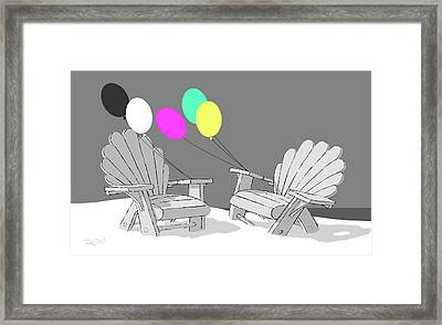 Reminiscence Framed Print by Tom Dickson