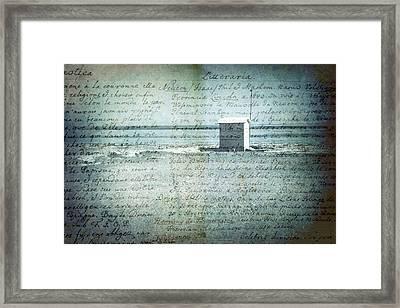 Memories... Framed Print by Vittorio Chiampan