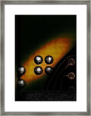 Memory Chip Number Three Framed Print by Bob Orsillo