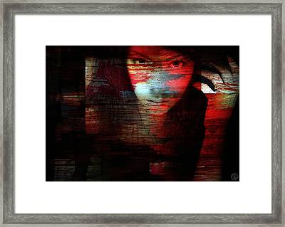 Memory Etched In Wood Framed Print by Gun Legler