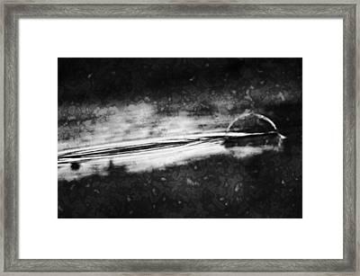 Memory Fade Framed Print by Matthew Blum