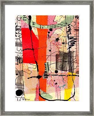 Memory Marks Framed Print