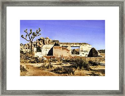 Framed Print featuring the painting Memory by Muhie Kanawati