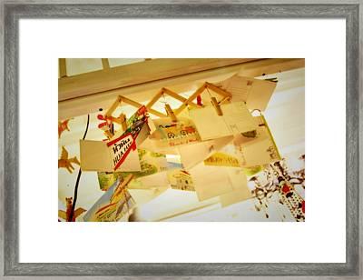 Memory Of Cicada Framed Print